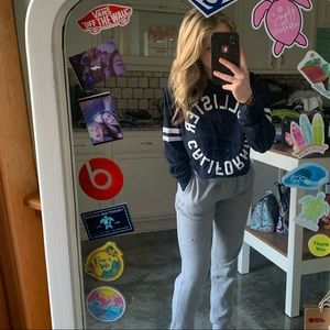 2 cropped Hollister long sleeves!
